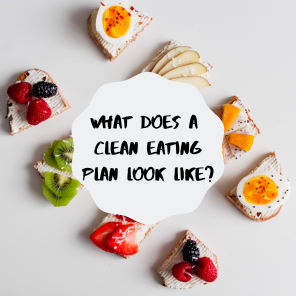 What does a Clean eating Plan look like_