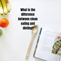 What is the difference between clean eating and dieting_
